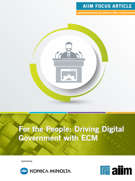For the People: Driving Digital Government with ECM