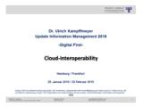 """Cloud-Interoperability"" | Auszug aus Update Information Management 2019"