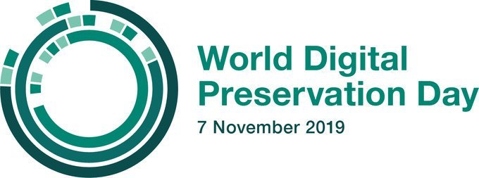 WDPD World Digital Preservation Day 2019