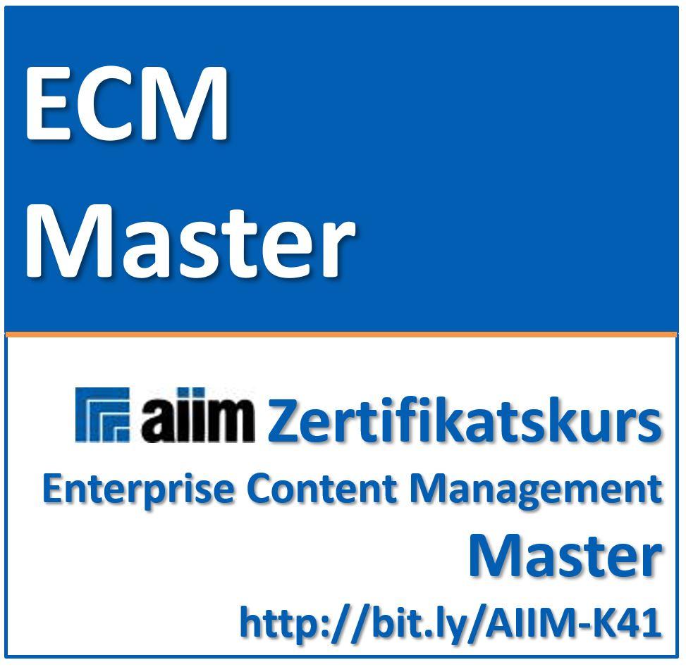 ABGESAGT: 27.-30.4.2020 | ECM Enterprise Content Management Master