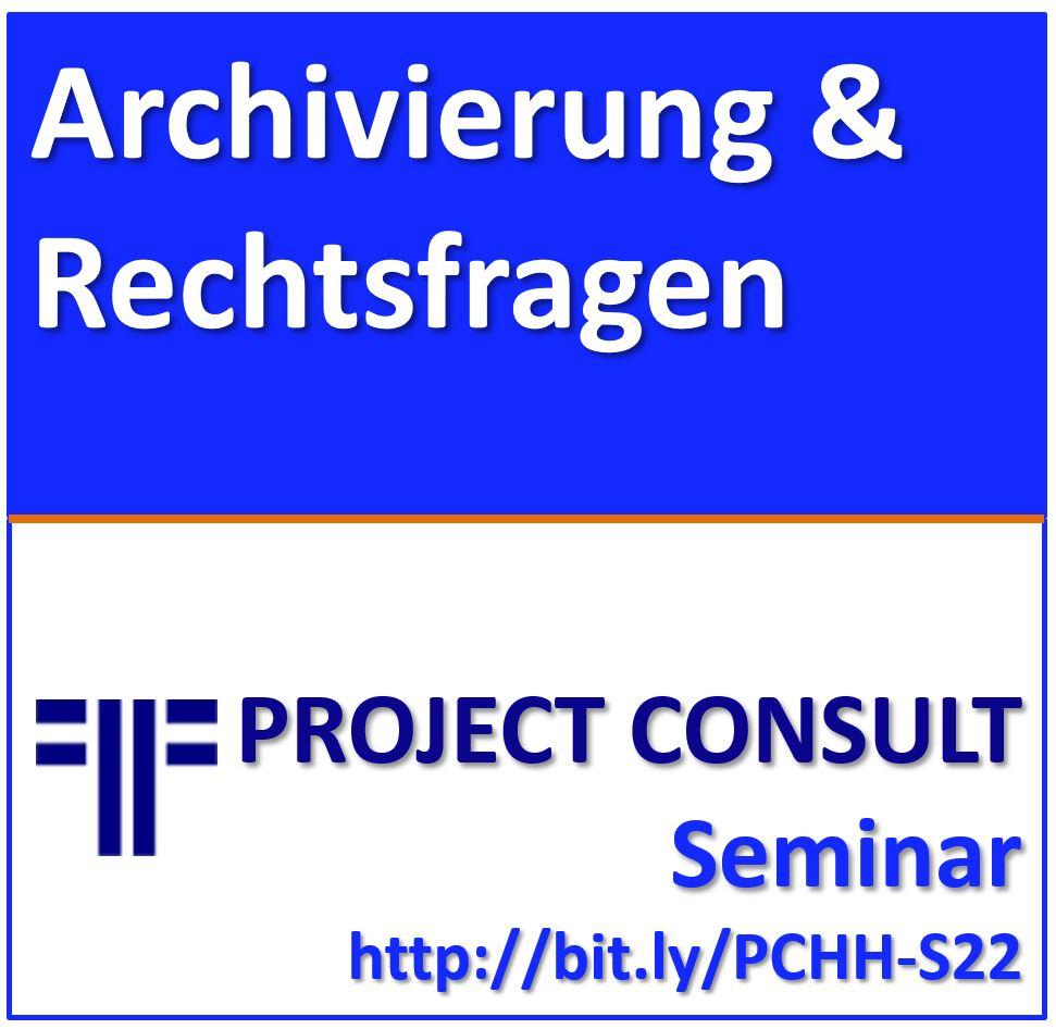 ABGESAGT: 25.+26.05.2020 | Elektronische Archivierung & Rechtsfragen des Dokumentenmanagements