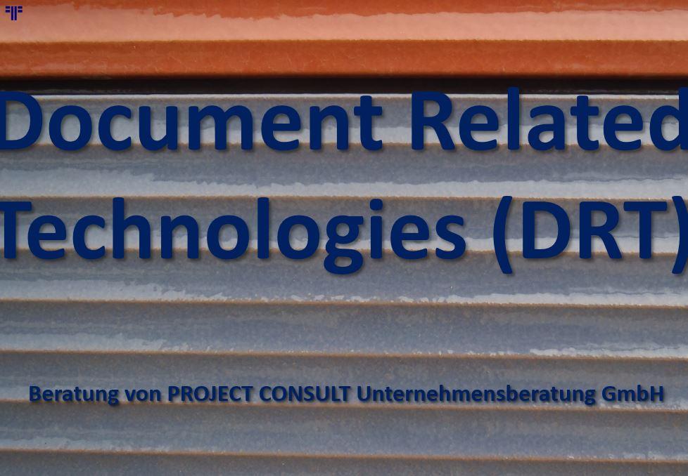 Document Related Technologies (DRT)