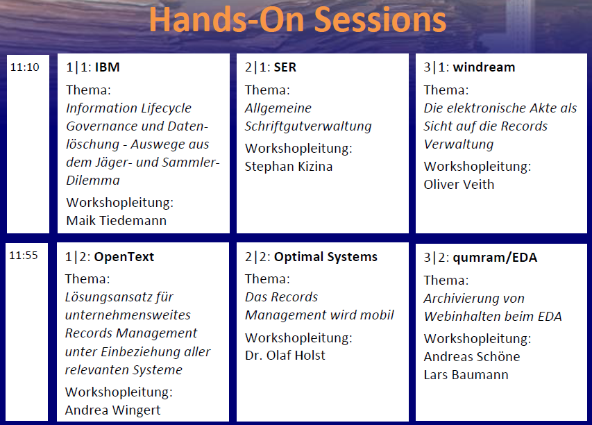 RMK2014 Programm Workshops Hands-On Session