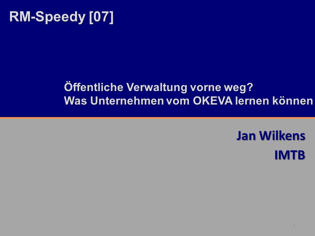 RM-Speedy IMTB Titelfolie RMK2014