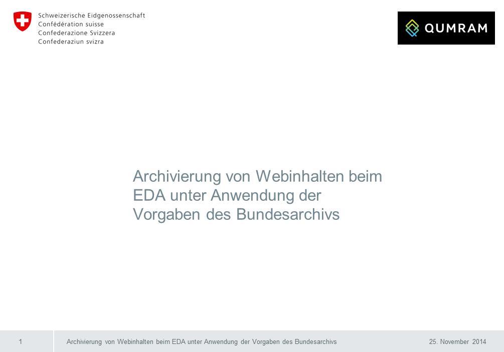 Workshop Qumram Titelfolie RMK2014