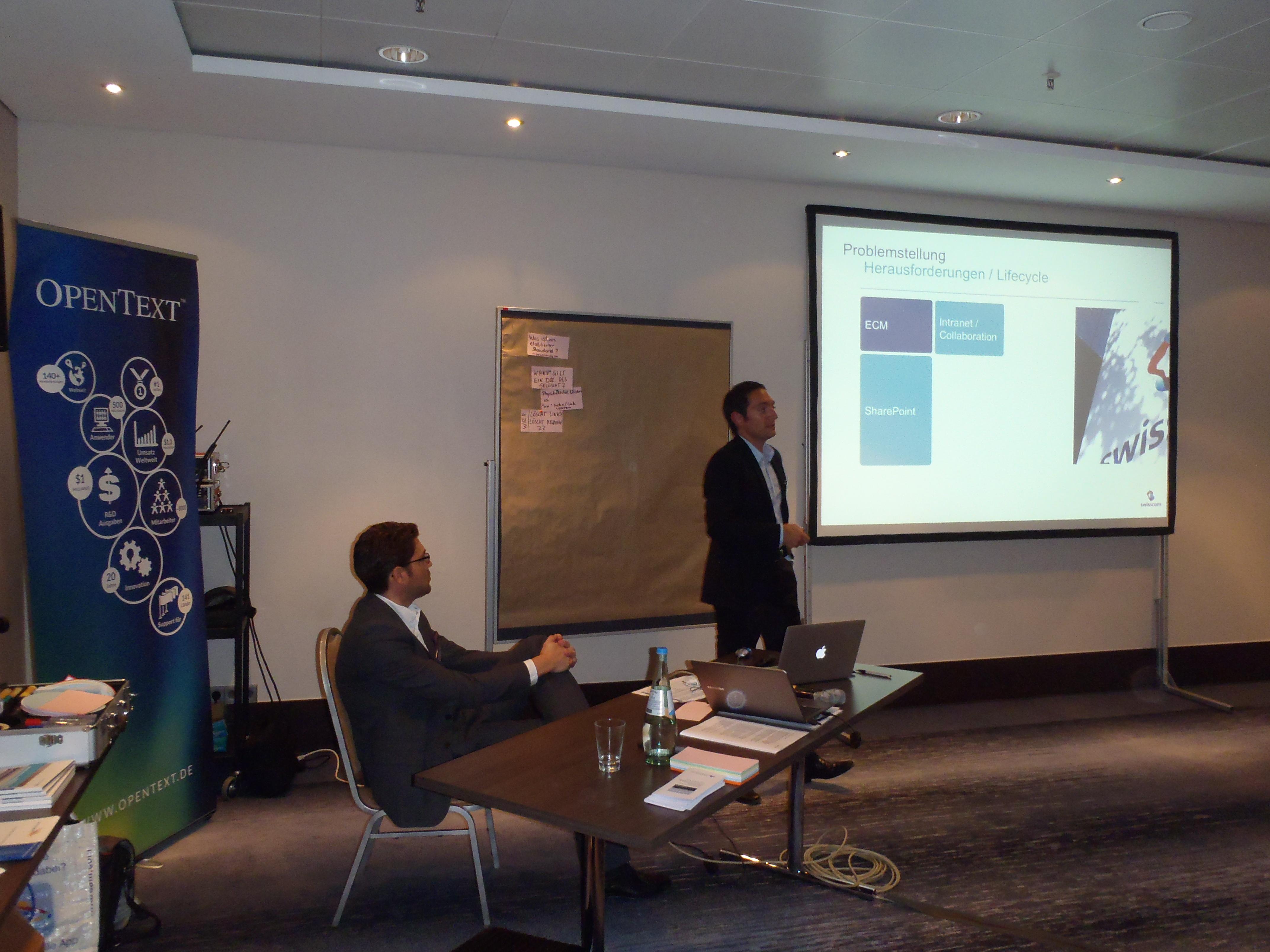 Vortrag Swisscom Mirti RMK2014